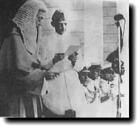 Quaid-i-Azam as Governor General