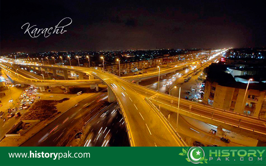 karachi night view
