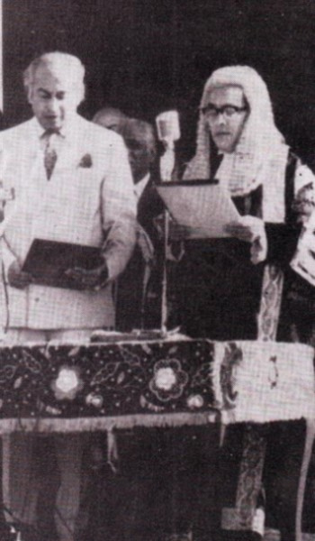 bhutto as president