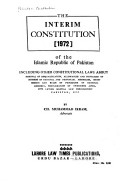 The Interim Constitution of 1972