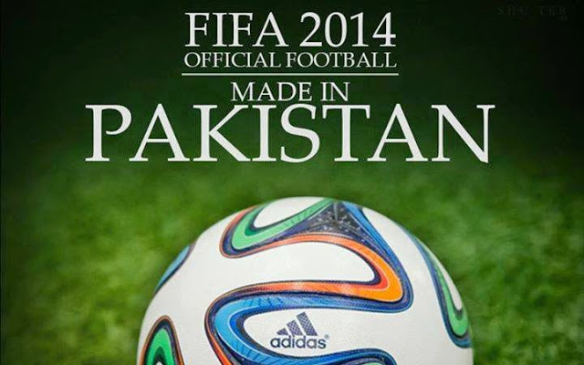 The Brazuca made in Pakistan