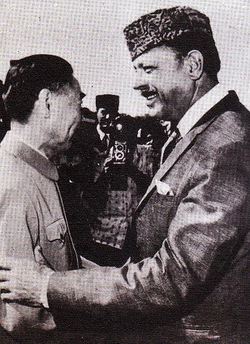 Zhou Enlai visit to Pakistan