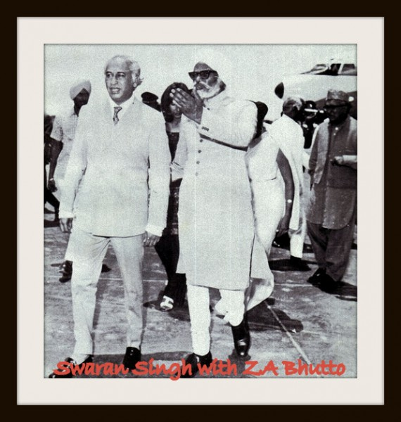 Bhutto Swaran Singh talks 1962