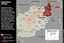 CIVIL WAR IN AFGHANISTAN 1990-1998